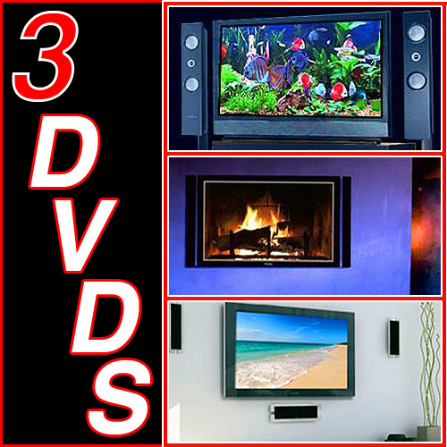 Aquarium Dvd Fireplace Waves Video 3 Dvds Special See The 1 Best Ing Fish Tank Yule Log Fire Place And Relaxation Nature
