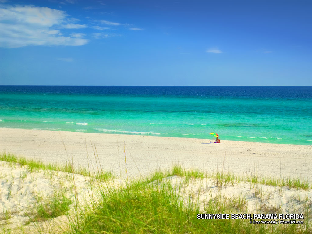 Sunnyside Beaches Florida Near Panama Beach Desktop Photo Click Here
